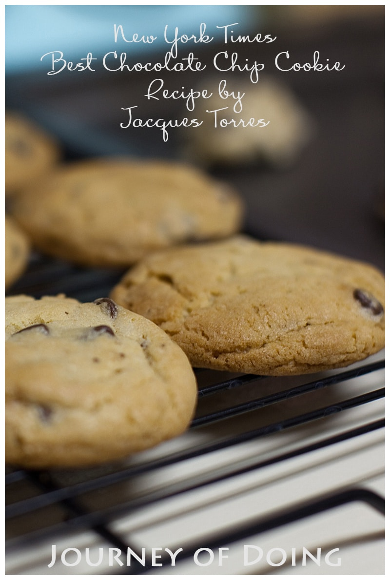 journey of doing - new york times best chocolate chip cookie recipe