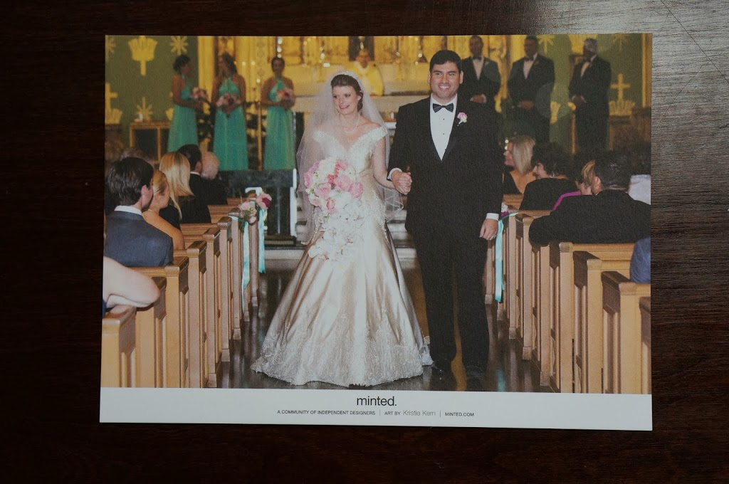 Our first Married Christmas Card! » journey of doing