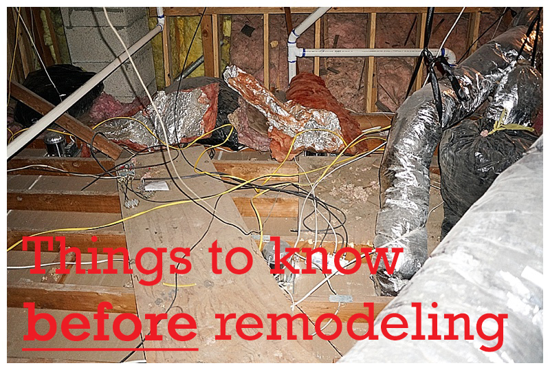 journey of doing - Things to Know Before Renovating