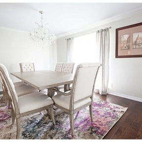 journey of doing - formal dining room reveal