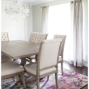 journey of doing - formal dining room renovation reveal