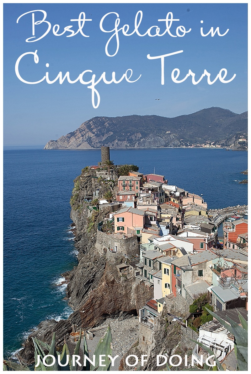 journey of doing - best gelato in cinque terre