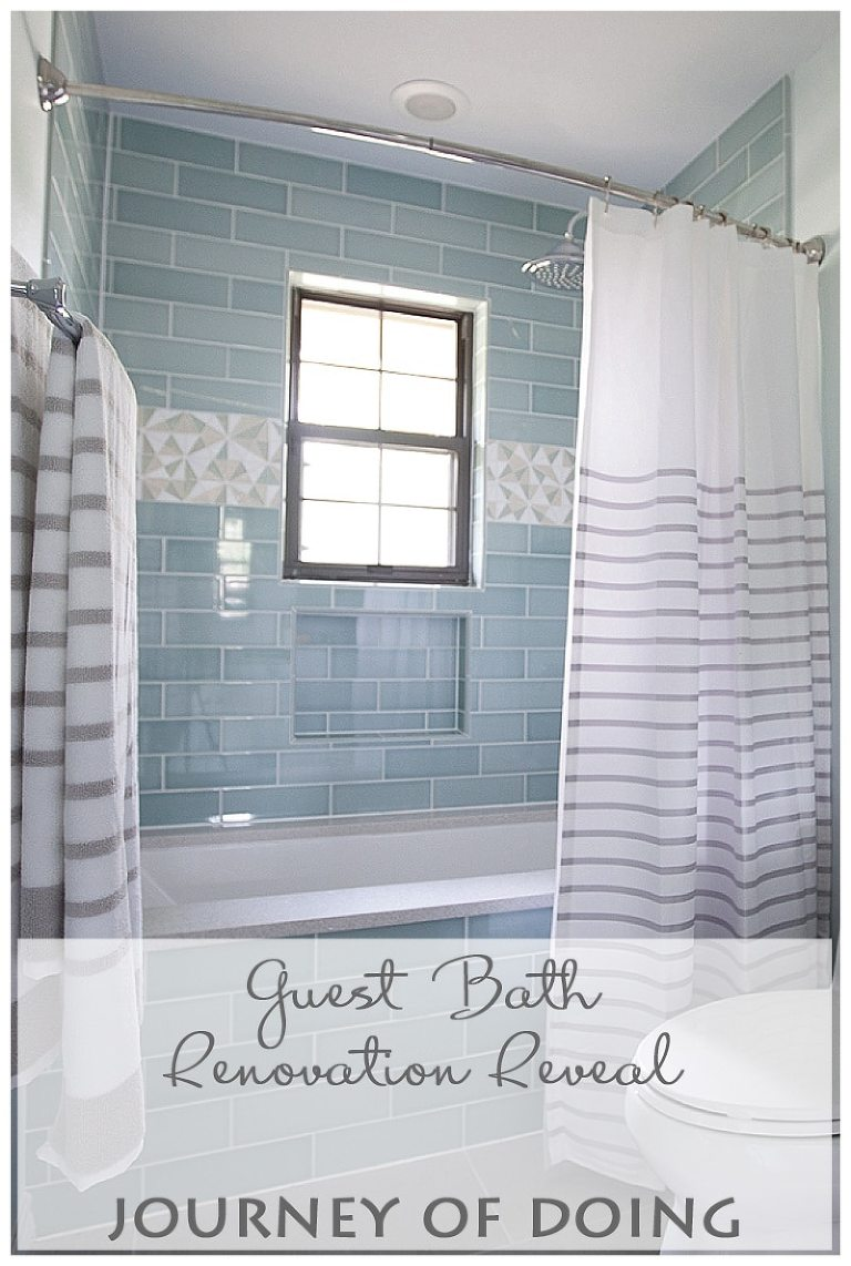 Bathroom Renovation Reveal Jack And Jill Guest Bath