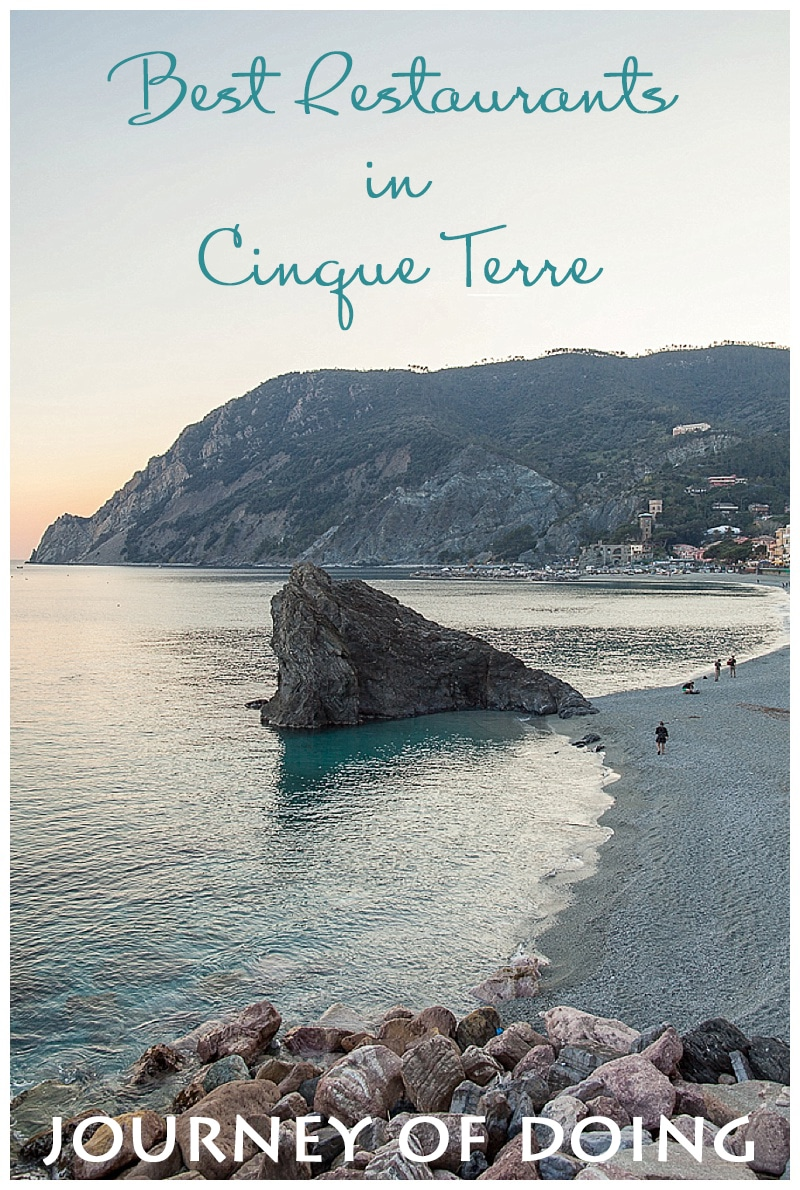 journey of doing - best restaurants in cinque terre