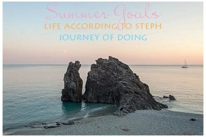 journey of doing - Summer Goals
