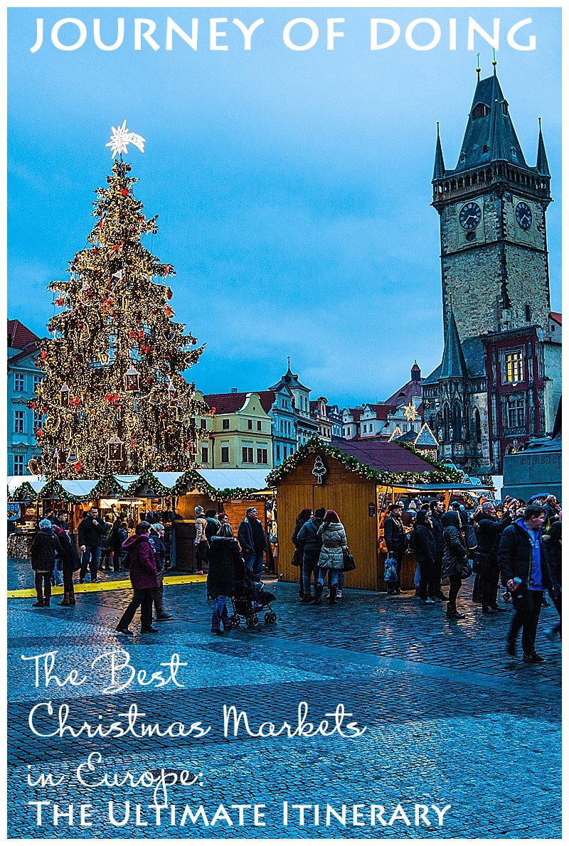 journey of doing - Best Christmas Markets in Europe; the ultimate itinerary to European Christmas Markets